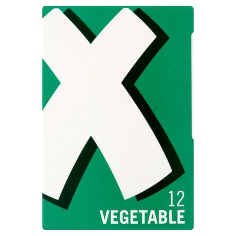 Oxo Vegetable Stock Cubes (Item Contains 12 Cubes) 71g