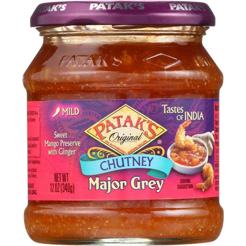 Pataks Chutney - Major Grey Mild 340g