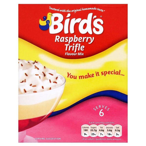 Birds Raspberry Trifle Flavor Mix 141g
