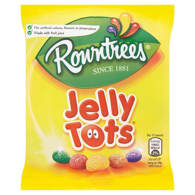 Rowntrees Jelly Tots 42g