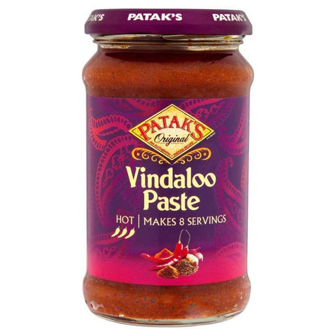 Pataks Vindaloo Hot Concentrated Curry Paste 283g