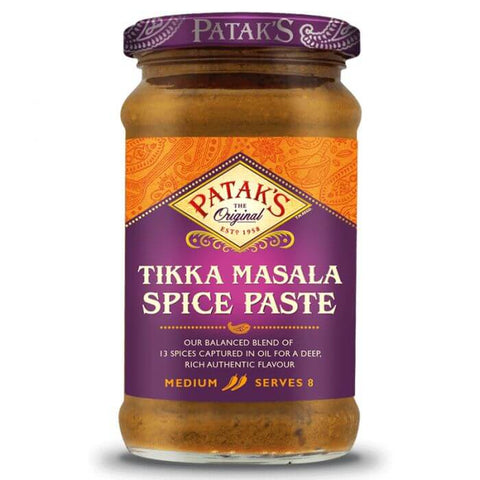 Pataks Curry Paste - Tikka Masala Medium  283g