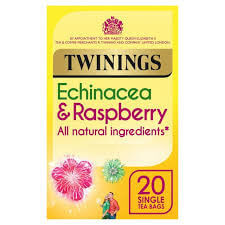 Twinings Echinacea and Raspberry Tea Bags (Pack of 20) 40g