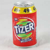 Barrs Tizer. The Great British Pop 330ml