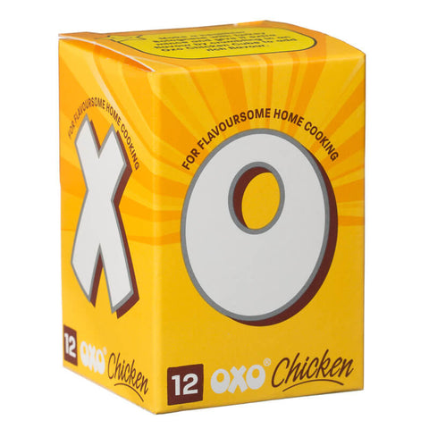 Oxo Chicken Cubes (Pack of 12) (LIMIT 2 PER ORDER) 71g