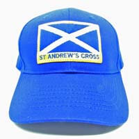 British Brands Cap - St Andrews Cross Blue 300g