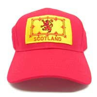 British Brands Cap - Scottish Rampart Lion Red 300g