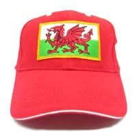 British Brands Cap Welsh Flag Red 300g