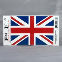 "British Brands Decal Union Jack Flag 5"" x 3.25"" 10g"