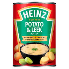 Heinz Soup - Potato and Leek  400g