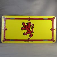 British Brands License Plate - Scotland 80g
