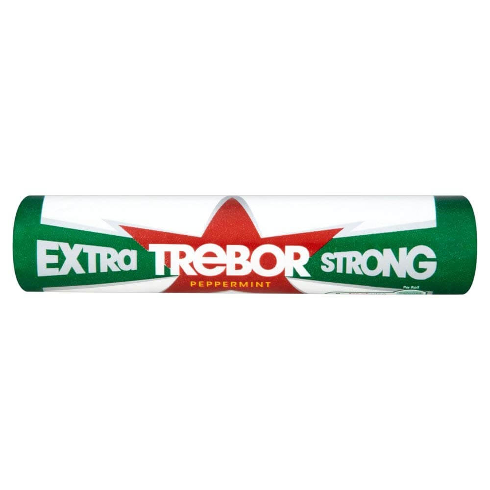 Trebor Extra Strong Peppermints 41.3g