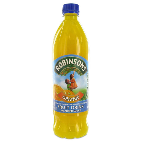 Robinsons Orange Fruit Squash No Added Sugar 1L