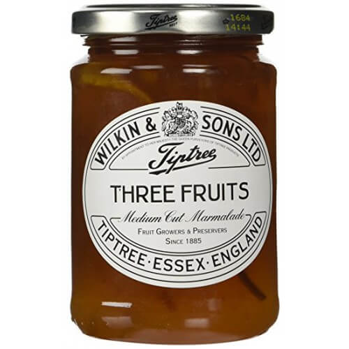 Wilkin and Sons Tiptree Three Fruits Medium Cut Marmalade 340g