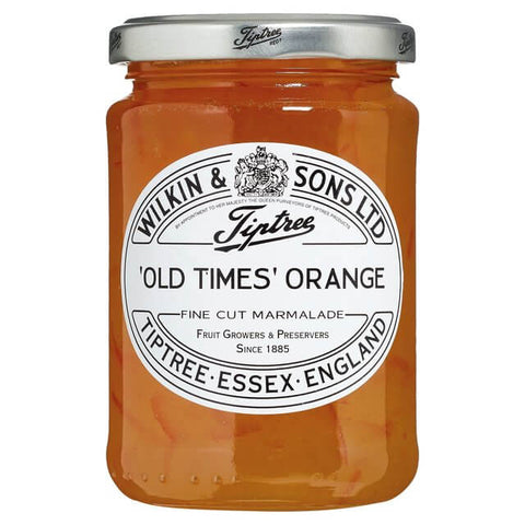Wilkin and Sons Tiptree Orange Marmalade - Old Times Fine Cut  454g