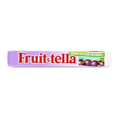 Fruitella Blackcurrant Sweets with Fruit Juice 41g