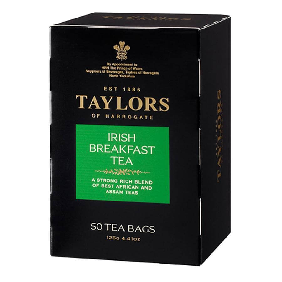 Taylors of Harrogate Irish Breakfast Tea Bags (Pack of 50) 125g