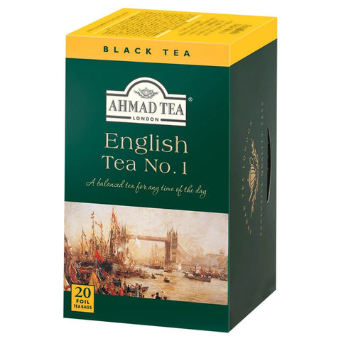 Ahmad Tea - English No 1 (Pack of 20 Tea Bags) 40g