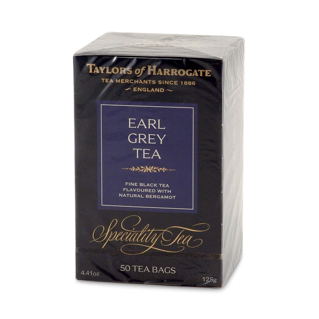 Taylors of Harrogate Tea - Earl Grey (Pack of 50 Tea Bags) 125g