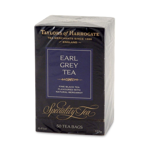 Taylors of Harrogate Earl Grey Tea Bags (Pack of 50) 125g