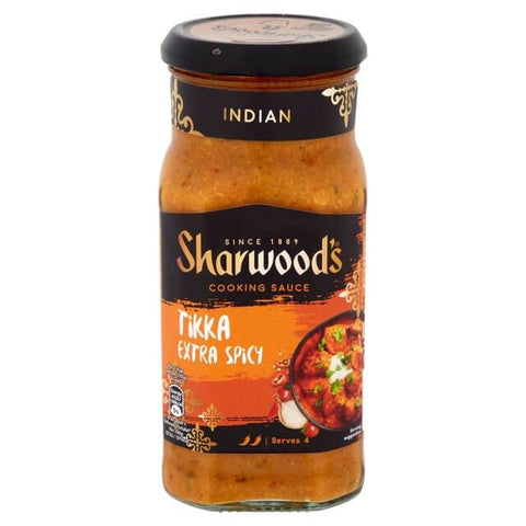 Sharwoods Extra Spicy Tikka Cooking Sauce 420g
