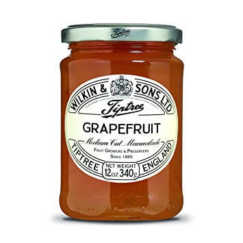 Wilkin and Sons Tiptree Grapefruit Medium Cut Marmalade 340g