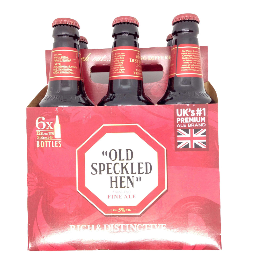 Old Speckled Hen Ale (Pack of 6 x 355ml) 4kg