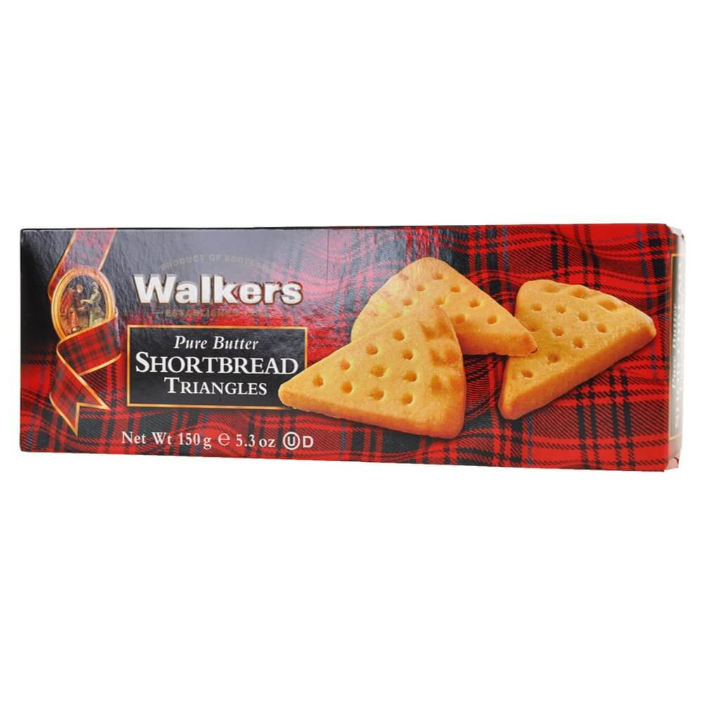 Walkers Shortbread Triangles 150g