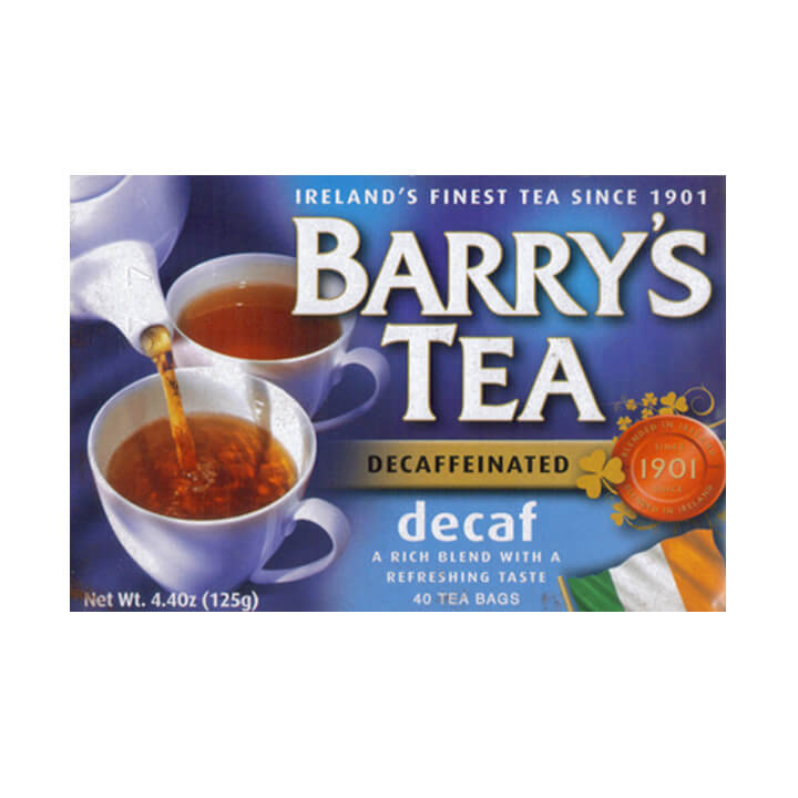 Barrys Decaf Blend Tea Bags (Pack of 40) 125g