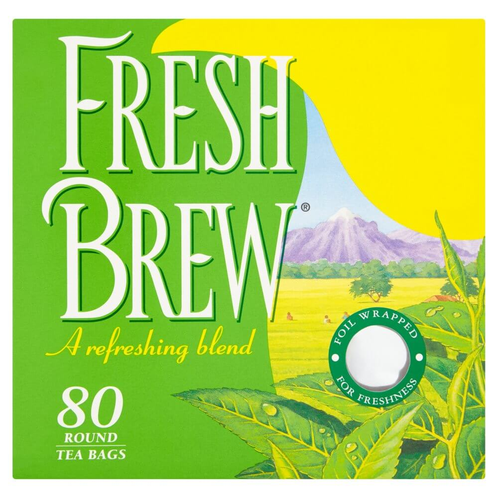 Fresh Brew Tea Bags (Pack of 80) 250g