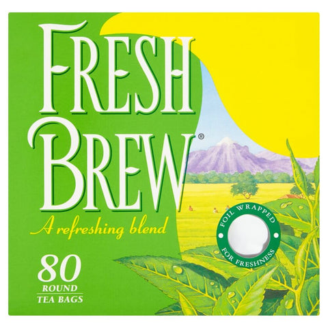 Fresh Brew Tea (Pack of 80 Tea Bags) 232g