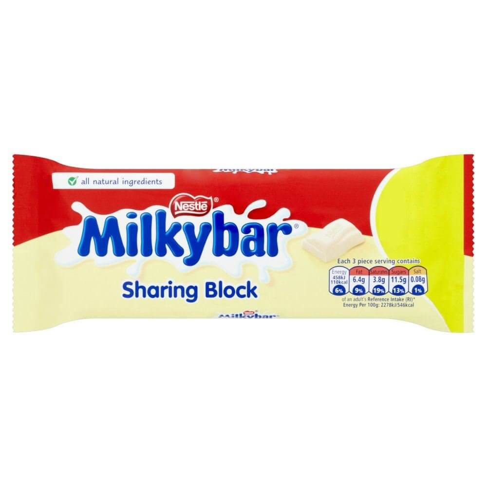 Nestle Milkybar - Large Bar 100g