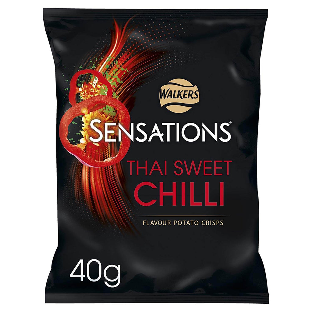 Walkers Crisps -Sensations Thai Sweet Chilli  40g