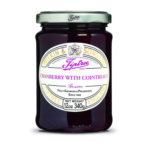 Wilkin and Sons Tiptree Cranberry with Cointreau Conserve 340g