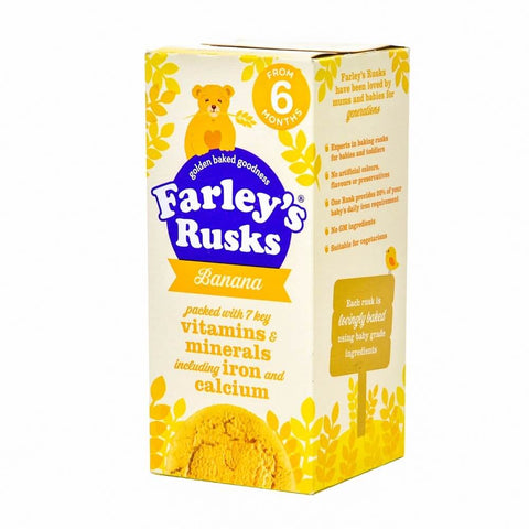 Farleys Rusks - Banana  150g