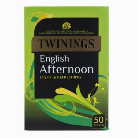 Twinings Tea - English Afternoon (Pack of 50 Tea Bags) 125g