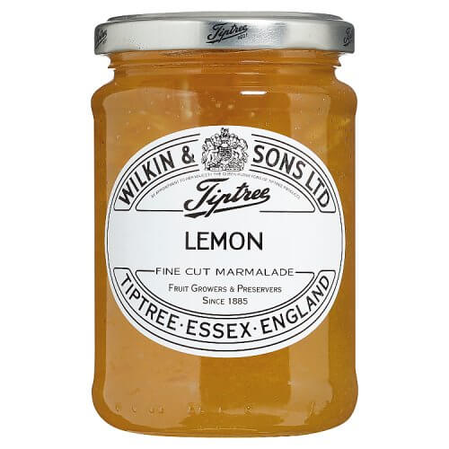 Wilkin and Sons Tiptree Lemon Marmalade Fine Cut Lemon Marmalade 340g