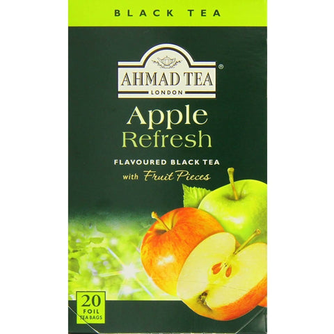 Ahmad Tea - Apple Refresh (Pack of 20 Tea Bags) 40g