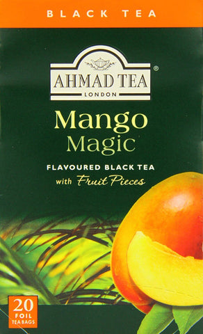 Ahmad Tea - Mango Magic (Pack of 20 Tea Bags) 40g