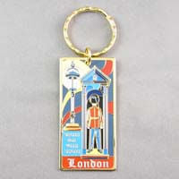 British Brands Keyring Sentry Box with Sentry 50g