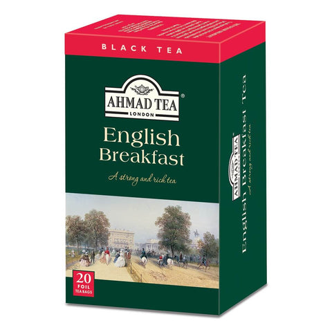 Ahmad English Breakfast Tea Bags (Pack of 20) 40g