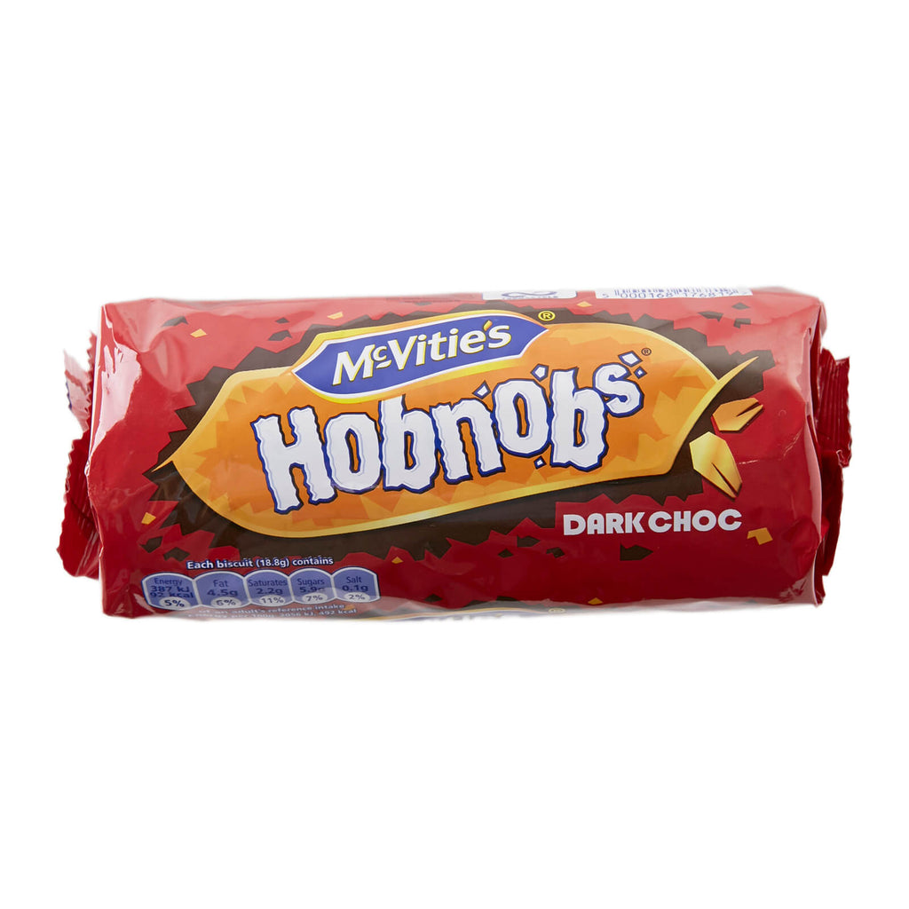 McVities Hobnobs Dark Chocolate Biscuits 262g