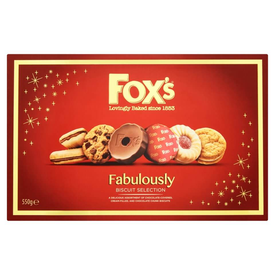 Foxs Biscuits - Fabulously Special Carton 550g
