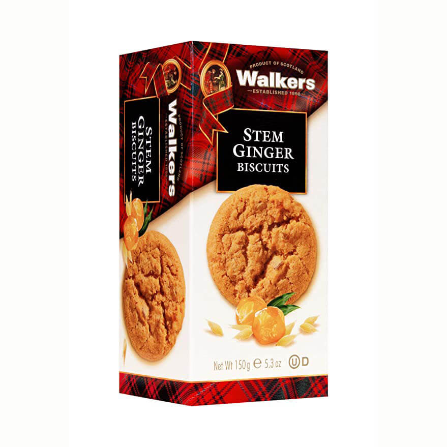 Walkers Biscuits - Stem Ginger 150g