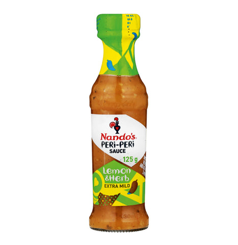 Nandos Peri Peri Sauce - Lemon and Herb Small Bottle (Kosher) 132g