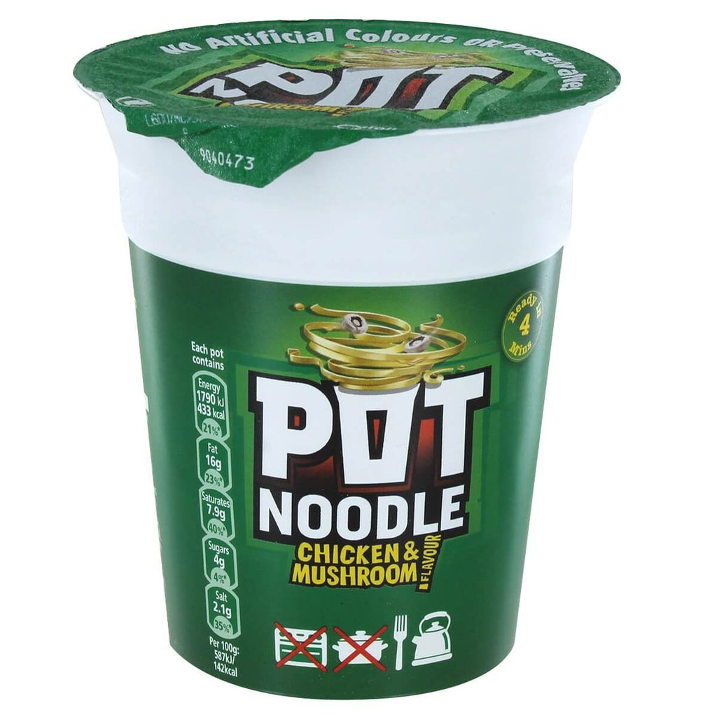 Pot Noodle - Chicken and Mushroom Flavour 90g