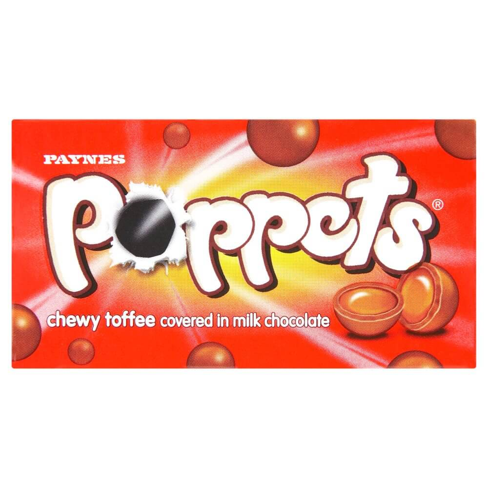 Paynes Poppets Chewy Toffee 40g