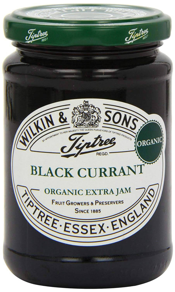 Wilkin and Sons Tiptree Blackcurrant Organic Extra Jam 340g