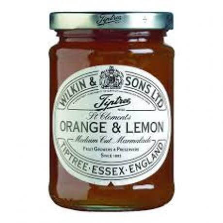 Wilkin and Sons Tiptree Orange and Lemon Marmalade St Clements Medium Cut 340g