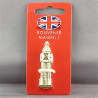 British Brands Magnet Metal Big Ben Gilt 21g